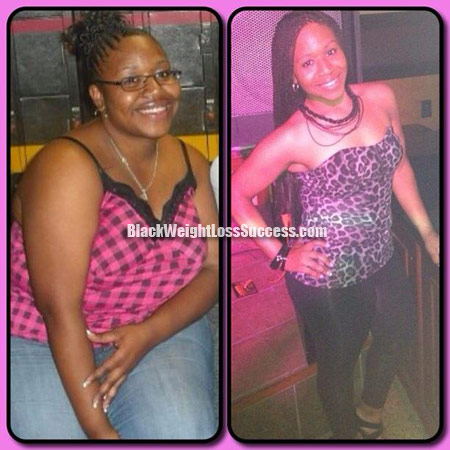 Tiana lost over 100 pounds | Black Weight Loss Success