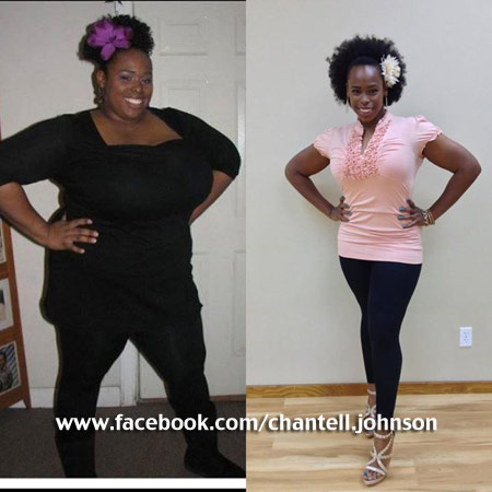 chantell extreme weight loss