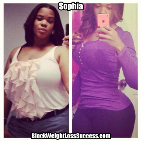 Updated: Sophia has lost a total of 95 pounds | Black ...