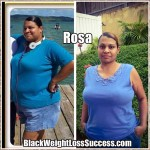 Rosa lost 65 pounds