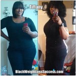 Tiffany lost 75 pounds