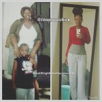 Tedra lost 75 pounds